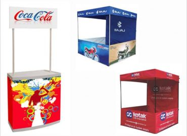 standee & promo-table for BTL activities